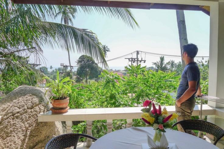Thailande - Koh Samui - Terasse Hotel Damien