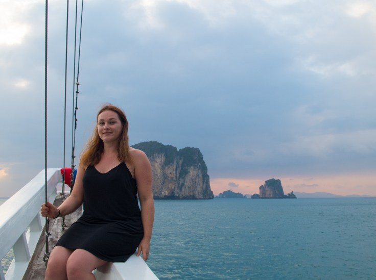 Thailande - Ao Nang - Croisière - Coucher de soleil - Ariane