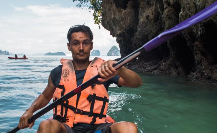 Thailande - Koh Hong - Kayak - Damien
