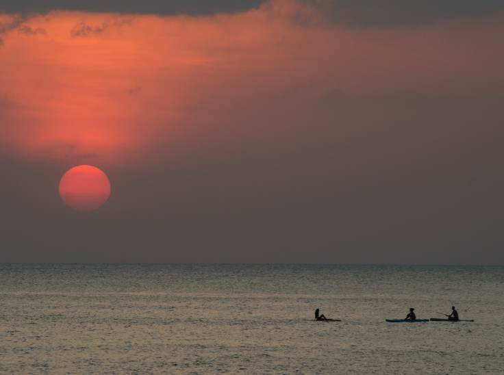 Thailande - Koh Lanta - plage - paddle