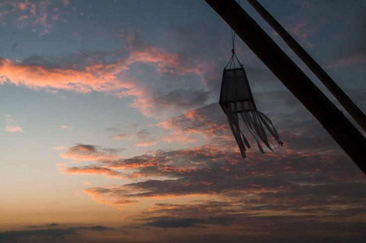 Thailande - Koh Lanta - coucher soleil - nuages