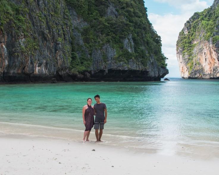 Thailande - Koh Phi Phi Ley - Maya Bay - Ariane Damien