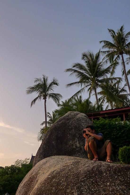 Thailande - Koh Samui - coucher soleil - Hotel - Damien