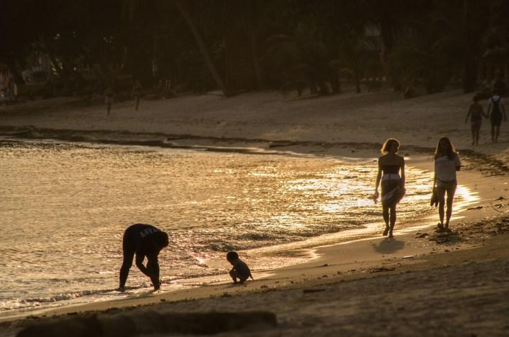 Thailande - Koh Samui - Coucher soleil - plage