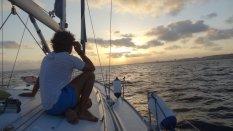 Notre voilier l'Olokun