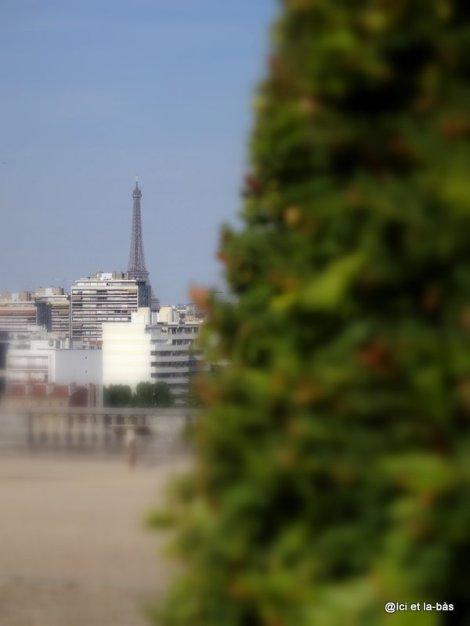 Tour Eiffel depuis Saint-Cloud