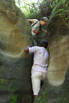 Randonnée dans la gorge Ol Njorowa, Kenya