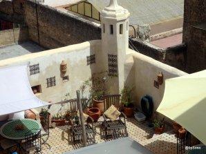 Sur-les-toits-de-la-vielle-médina-Fès