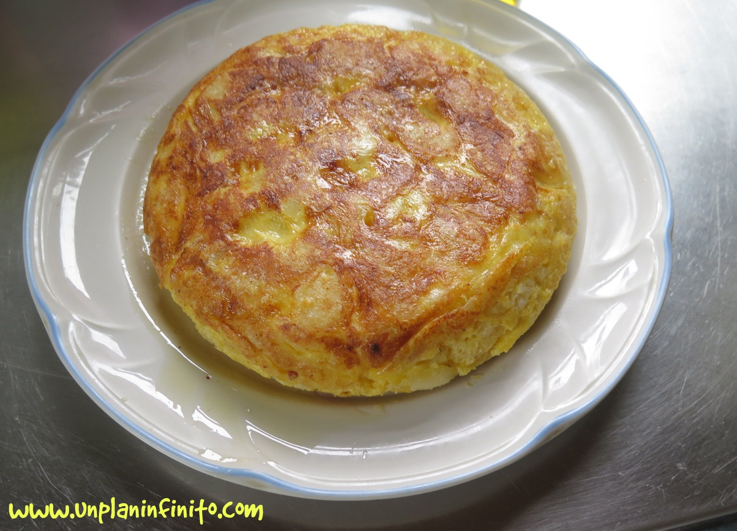 The Real Spanish Omelette By Rocio Un Plan Infinito
