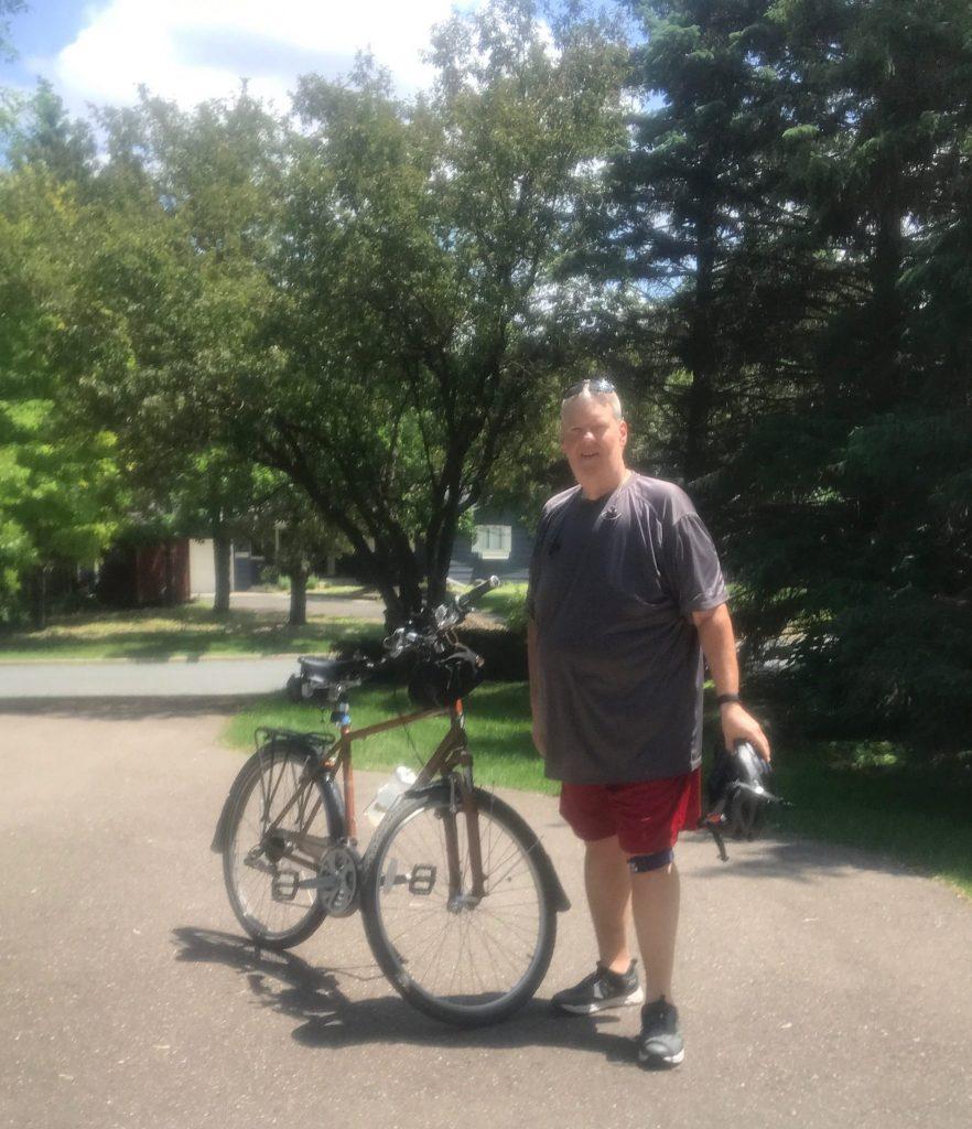 me and bike