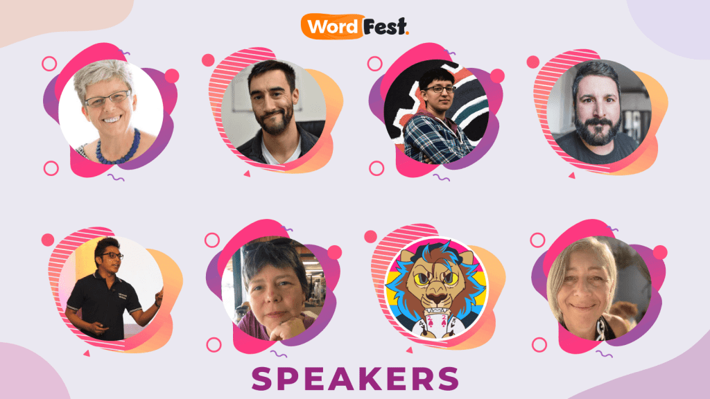 WordFest Speaker Batch 3