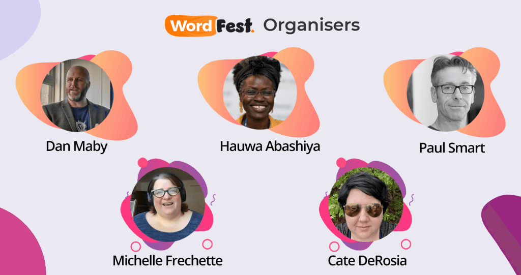 WordFest Organisers