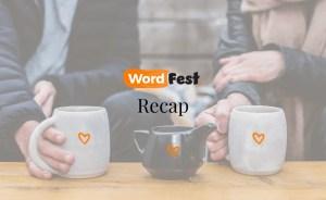 WordFest Live 2021 Recap