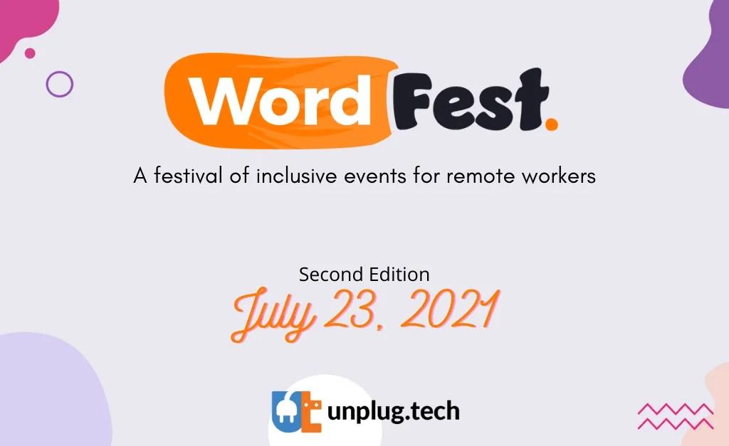 WordFest Live July Edition