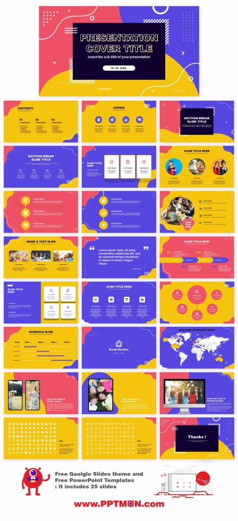 free powerpoint template and google slides theme on