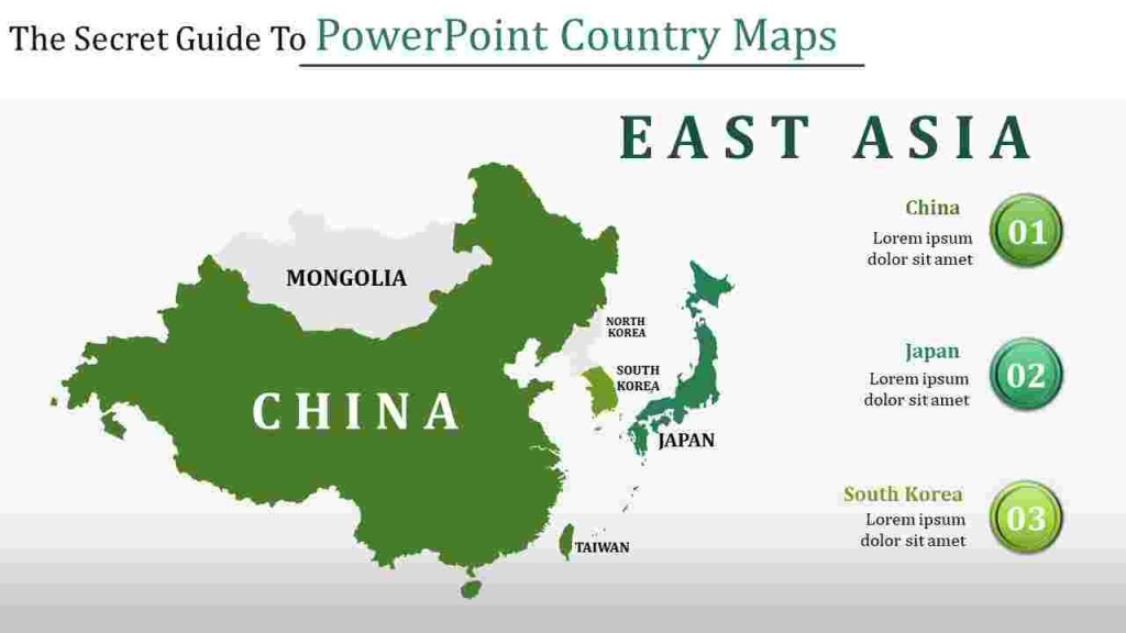 powerpoint country maps slideegg