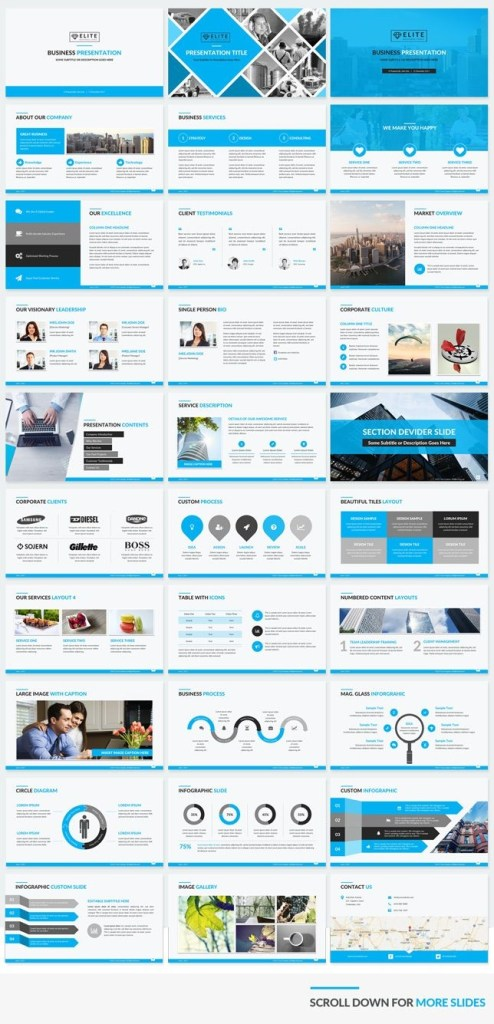 professional corporate business powerpoint template