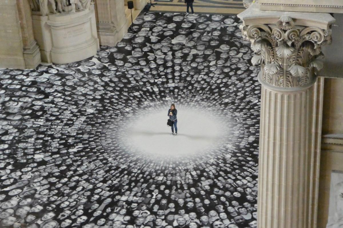 L'installation monumentale de JR au Panthéon – pointculture