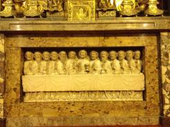 Institution de l'Eucharistie, bas-relief provenenant de l'Abbaye de Maubuisson