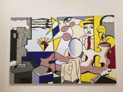 Roy Lichtenstein, Figures with Sunset, 1978, SFMOMA