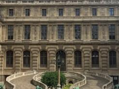 Palais du Louvre, Façade est de la cour Lefuel, v. 1850. ©Damien Tellas