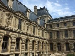 Palais du Louvre, Façade nord de la cour Lefuel, v. 1850. ©Damien Tellas