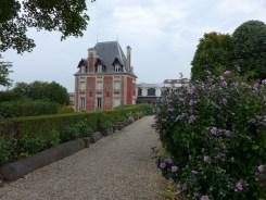Vue de la maison de Rodin