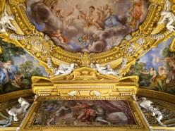 Pierre de Cortone et Ciro Ferri, Plafond du salon d'Apollon, Galerie Palatine, Palazzo Pitti, Florence. © Damien Tellas