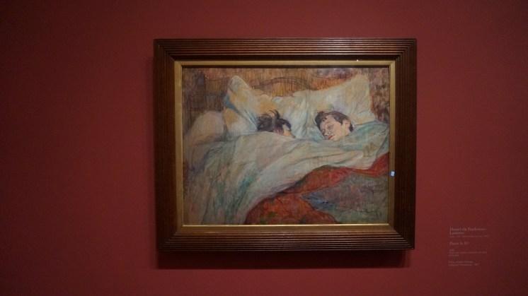 Henri de Toulouse-Lautrec, Dans le lit, 1892