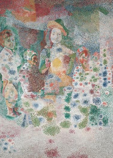 Pablo Picasso, Le Retour du baptême d'après Le Nain. Musée national Picasso, Paris