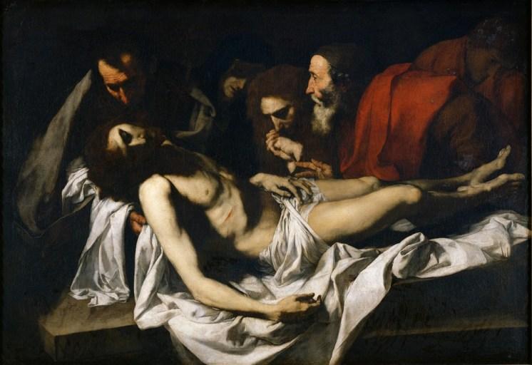 Jusepe de Ribera, La Déposition du Christ, fin des années 1620