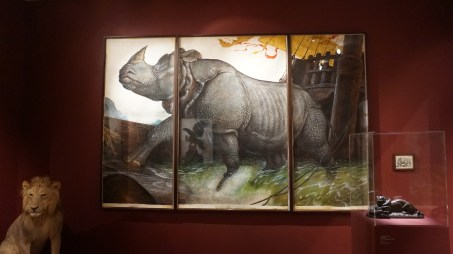 Walton Ford, Loss of the Lisbon Rhinoceros, 2008