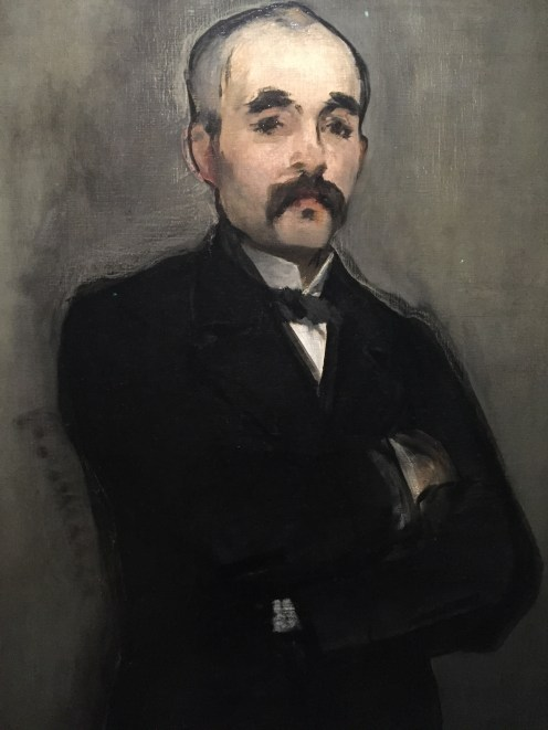 Édouard Manet, Georges Clémenceau, entre 1879 et 1880, Musée d'Orsay