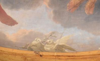 Michel Dorigny, La Toilette de Vénus (détail), vers 1658-1660, Paris, hôtel de Lauzun. © Damien Tellas