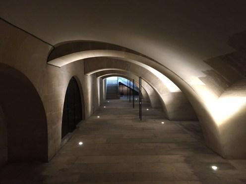 Galerie d'accès aux tribunes