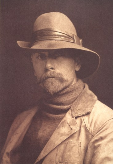 Edward S. Curtis, Autoportrait, 1899