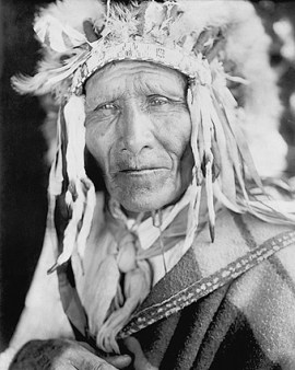 Edward S. Curtis, Oglala Sioux Indian Chief