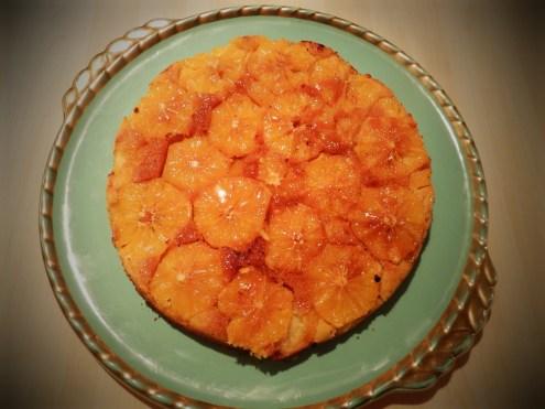 Polenta cake à l'orange