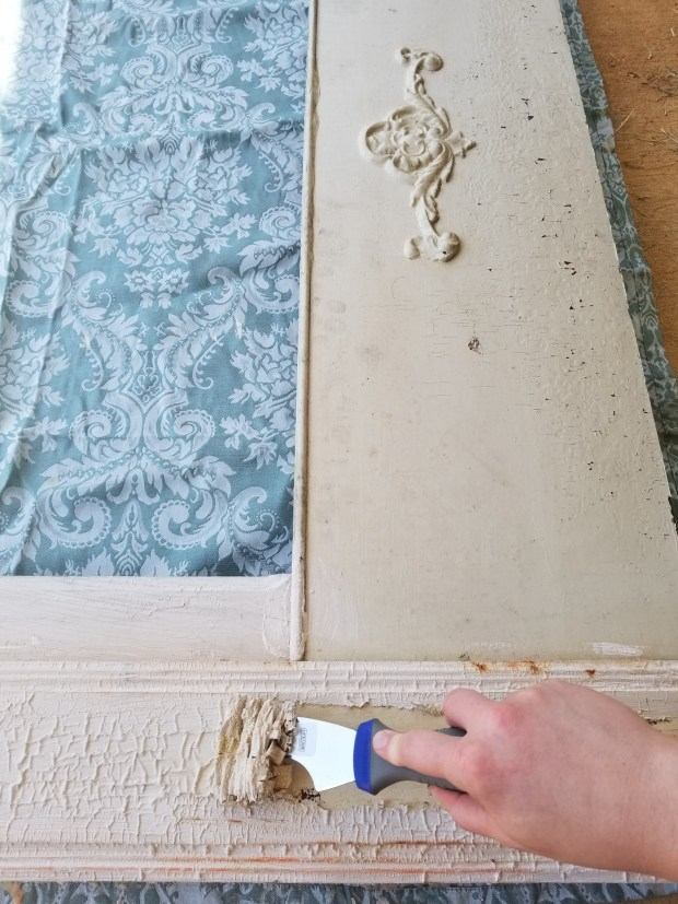 See how paint stripper works. A safe way to remove lead paint.