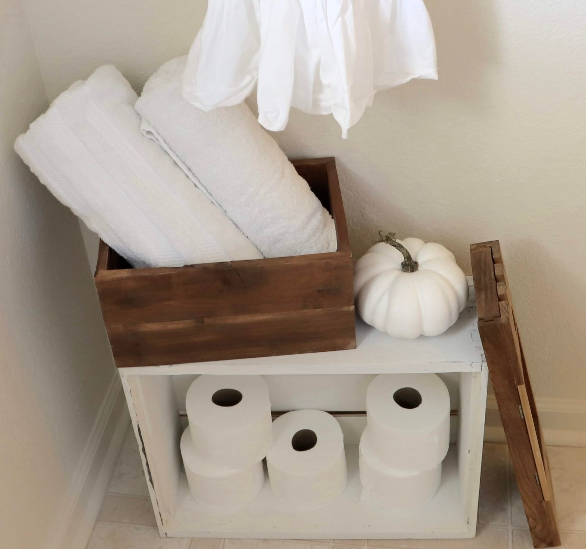 vintage wooden crate ideas. Bee box storage solutions
