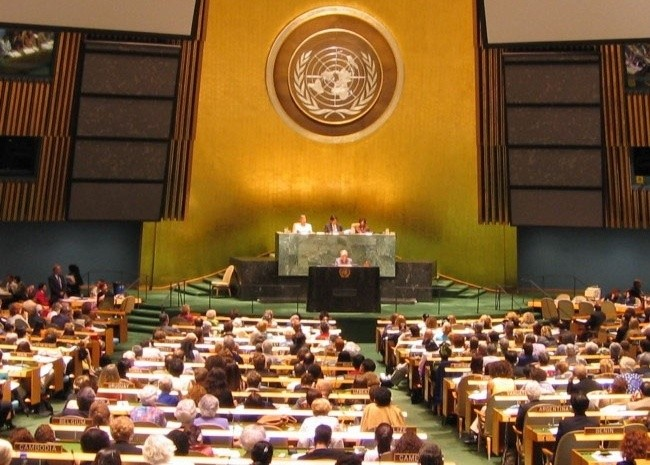 Appeal to UN General Assembly