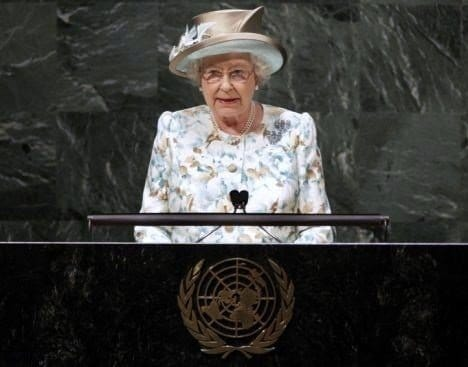 The UN and The Queen