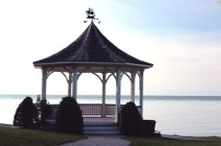 Gazebo on a Hill by the Lake