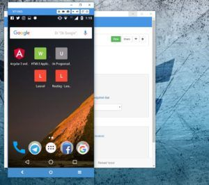 streming android pc