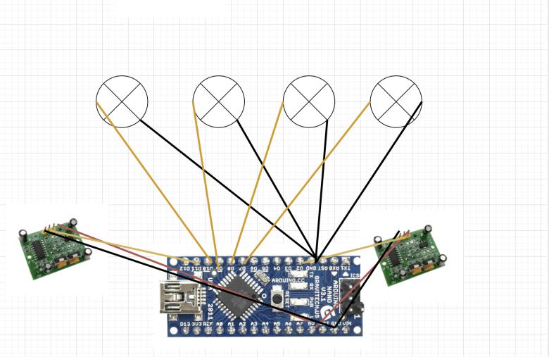 conexion de leds en arduino