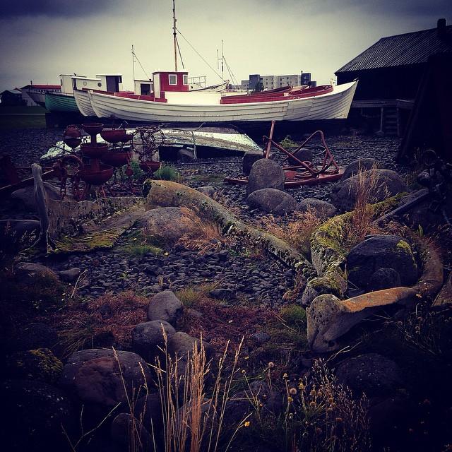Boat graveyard at Akranes