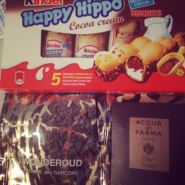 Chocolate hippo crack from A.