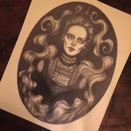 Miss Vanessa Ives, as illustrated by Caitlin McCarthy