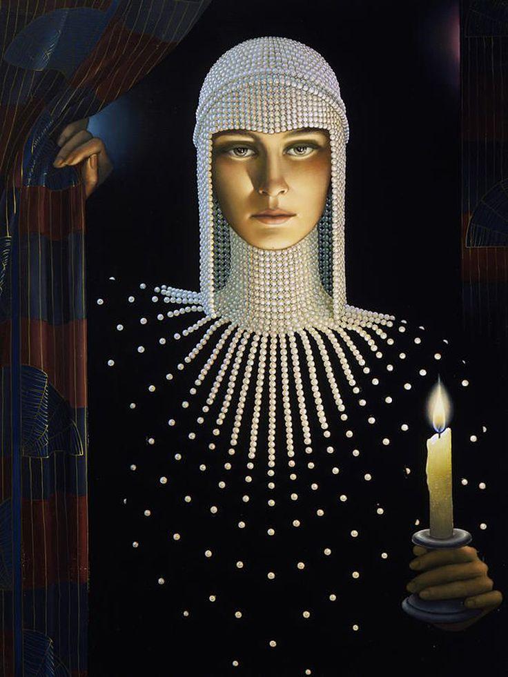Intrigue By Artist Jane Whiting Chrzanoska