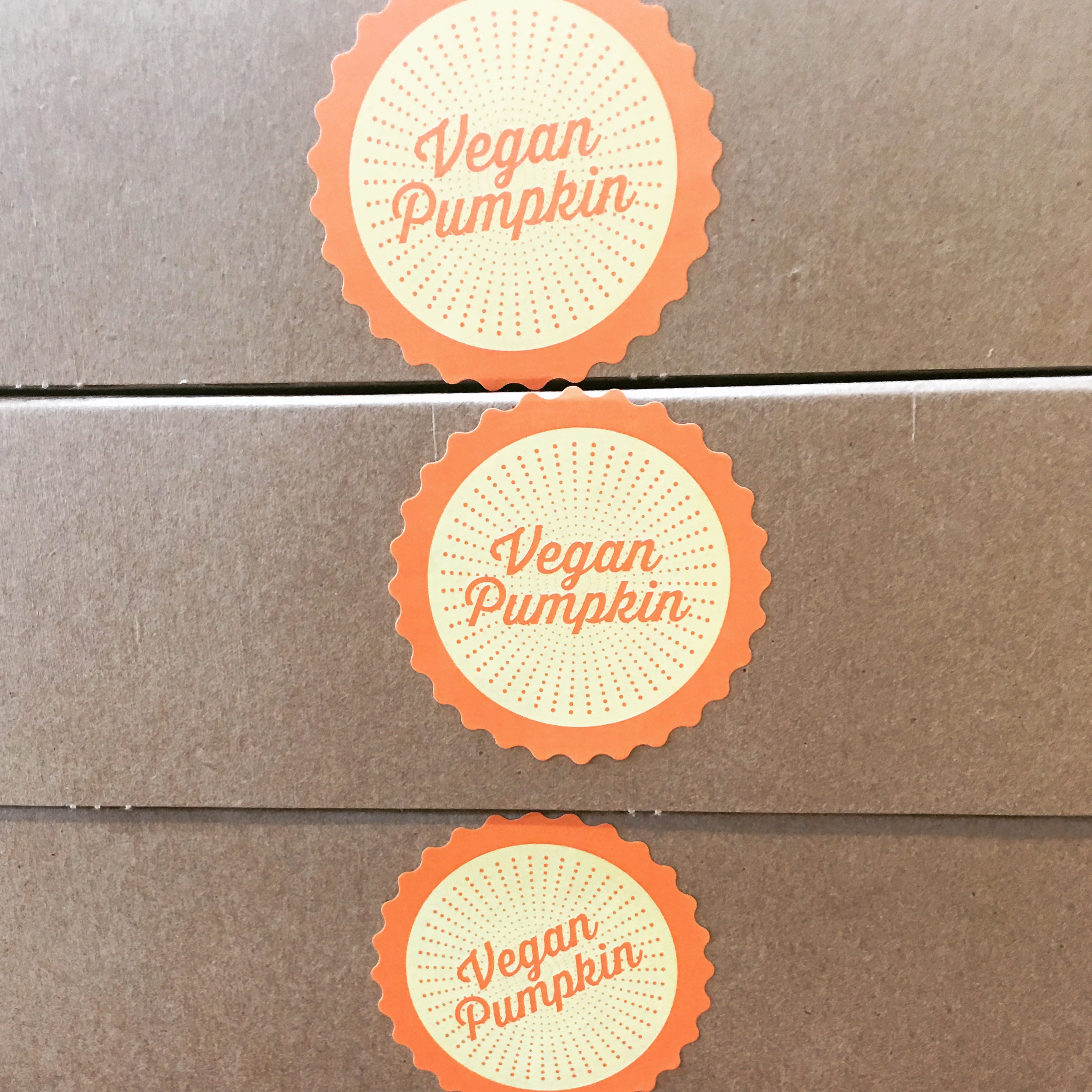 3 Thanksgiving food - vegan pumpkin pie at Whole Foods